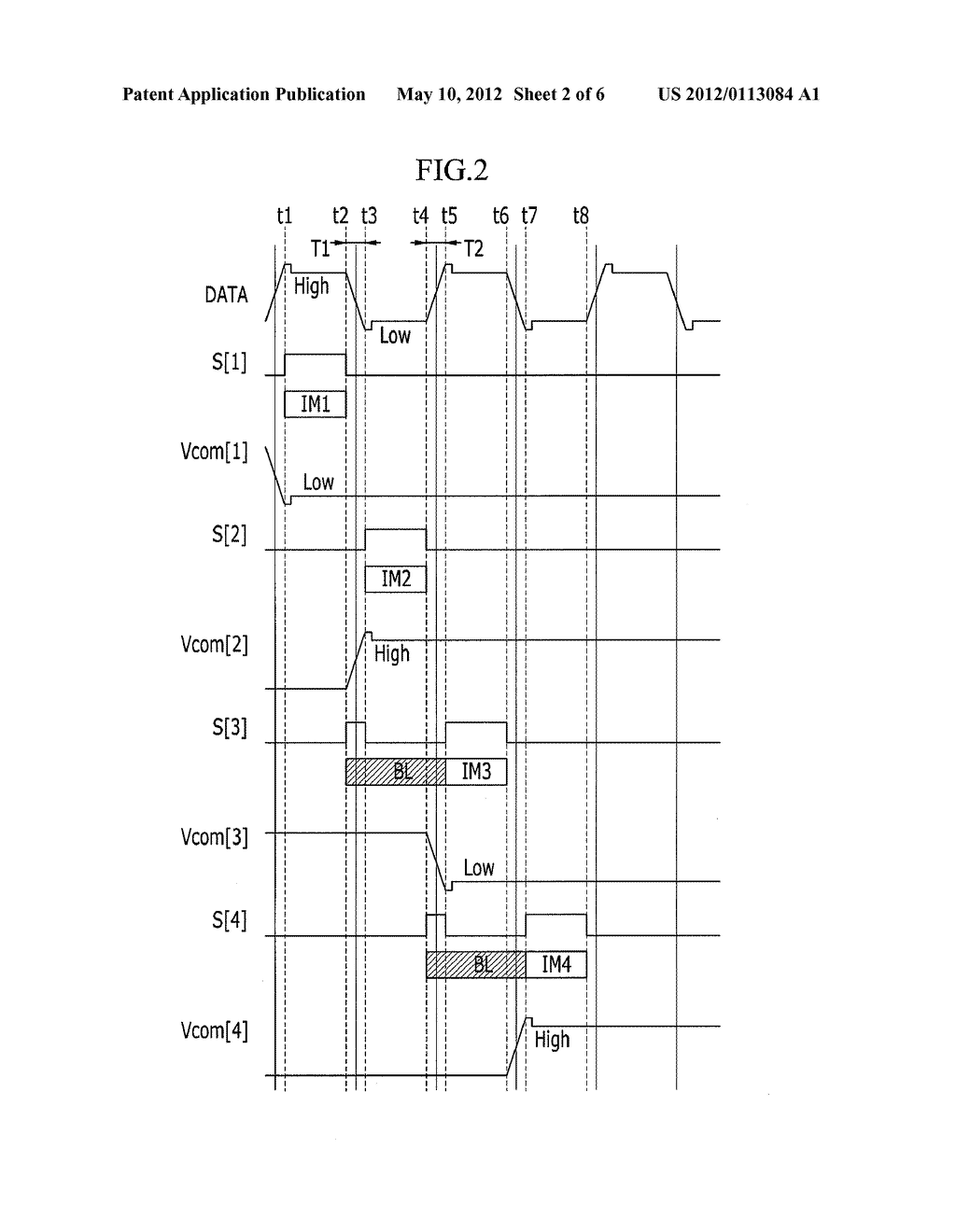 LIQUID CRYSTAL DISPLAY DEVICE AND DRIVING METHOD OF THE SAME - diagram, schematic, and image 03