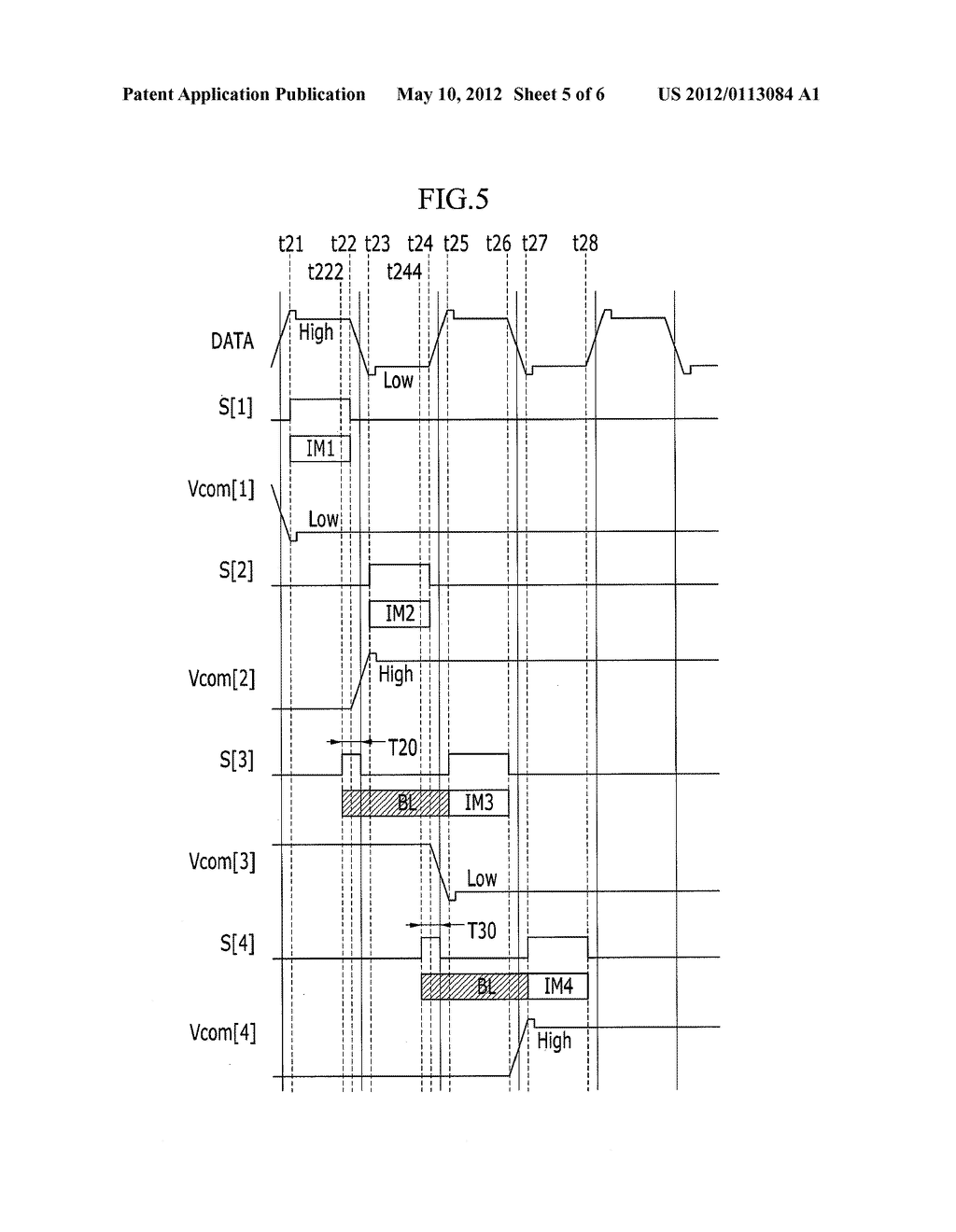 LIQUID CRYSTAL DISPLAY DEVICE AND DRIVING METHOD OF THE SAME - diagram, schematic, and image 06