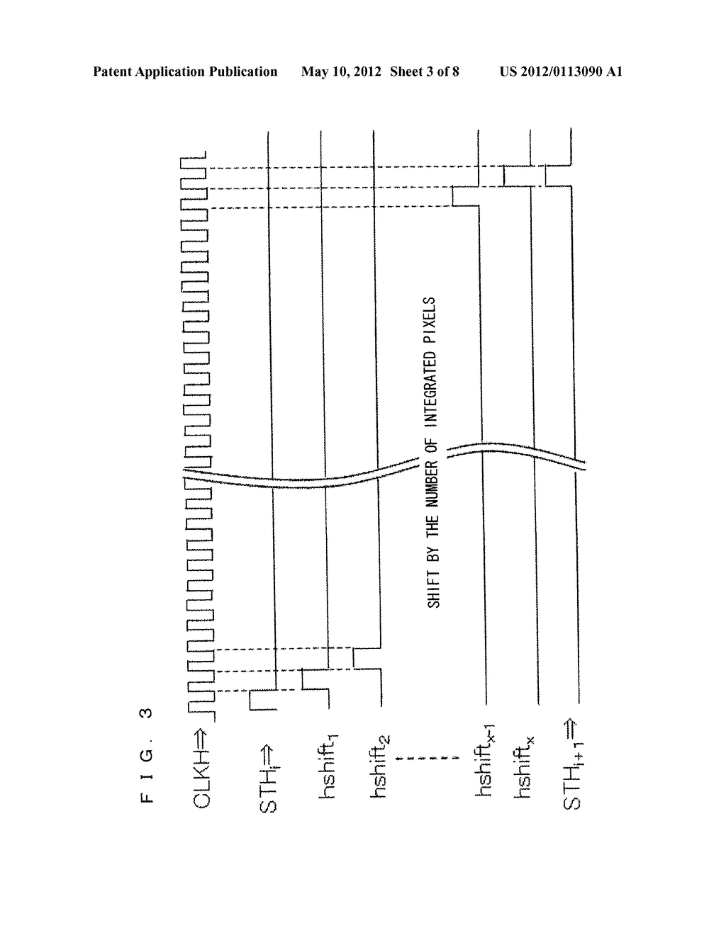 MATRIX DISPLAY DEVICE AND METHOD OF DRIVING THE SAME - diagram, schematic, and image 04