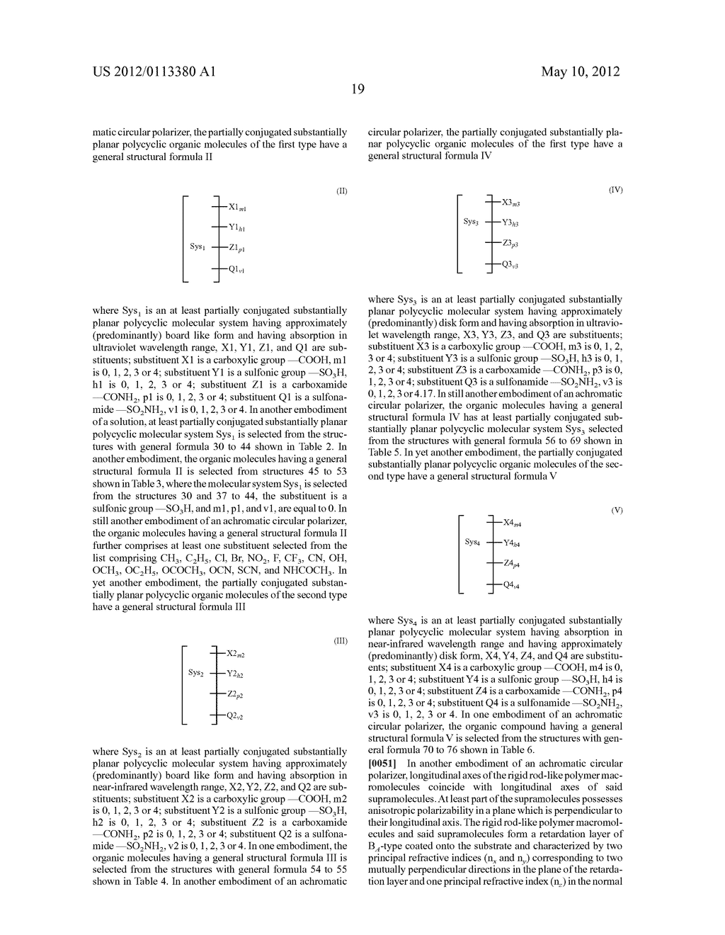 NEGATIVE DISPERSION RETARDATION PLATE AND ACHROMATIC CIRCULAR POLARIZER - diagram, schematic, and image 22