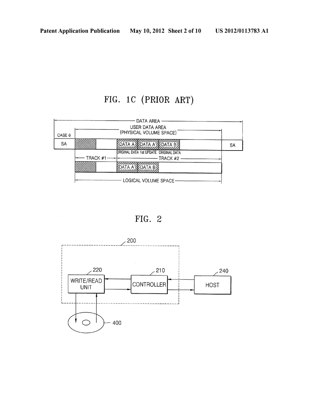 INFORMATION RECORDING MEDIUM, RECORDING/REPRODUCING APPARATUS, AND     RECORDING/REPRODUCING METHOD TO DISTINGUISH BETWEEN AN ORIGINAL RECORDING     BLOCK AND A REPLACEMENT RECORDING BLOCK - diagram, schematic, and image 03