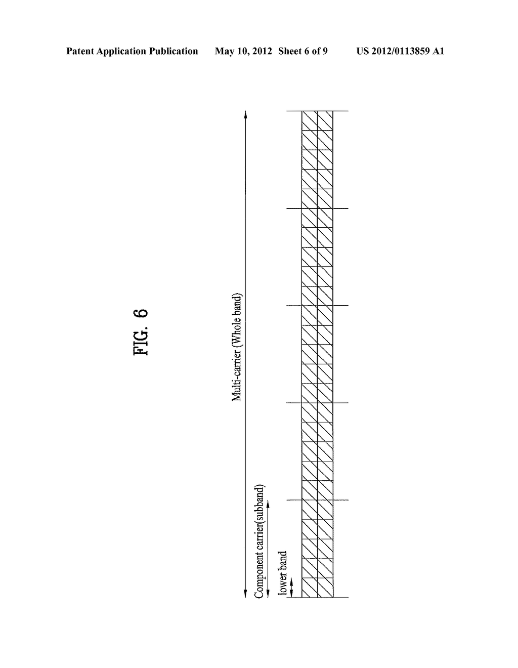 METHOD FOR MEASURING CHANNEL QUALITY INFORMATION ON A DOWNLINK     MULTI-CARRIER IN A WIRELESS COMMUNICATION SYSTEM USING CARRIER     AGGREGATION - diagram, schematic, and image 07