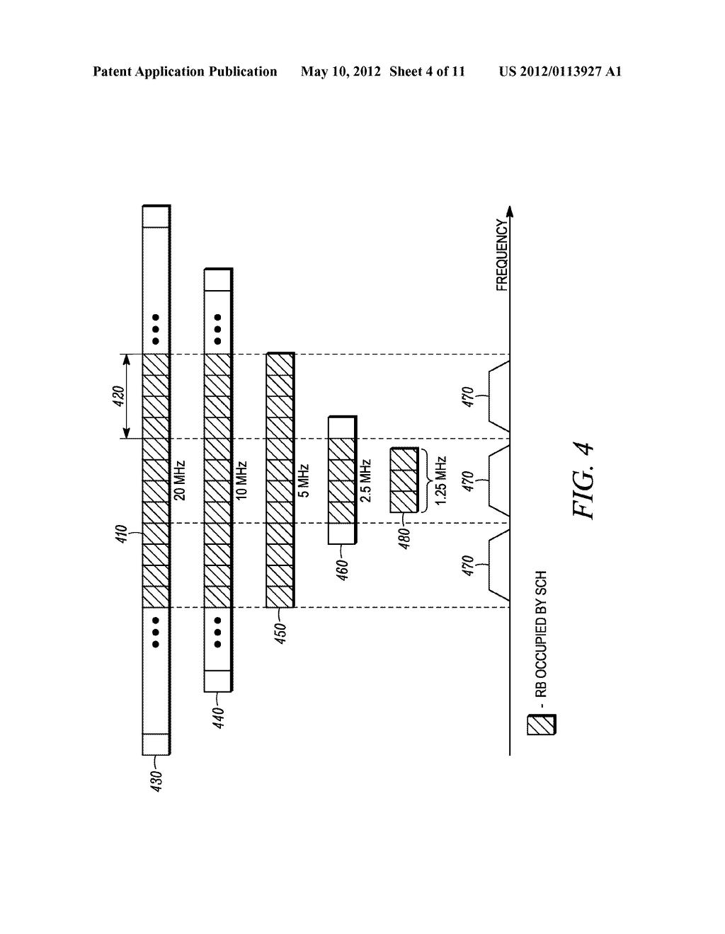 METHOD AND APPARATUS FOR INTERLEAVING SEQUENCE ELEMENTS OF AN OFDMA     SYNCHRONIZATION CHANNEL - diagram, schematic, and image 05