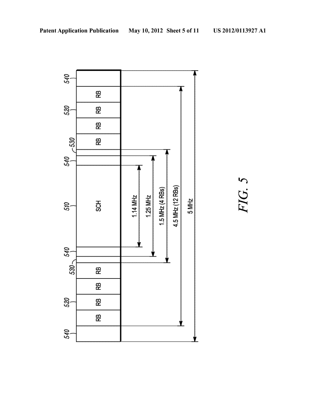 METHOD AND APPARATUS FOR INTERLEAVING SEQUENCE ELEMENTS OF AN OFDMA     SYNCHRONIZATION CHANNEL - diagram, schematic, and image 06