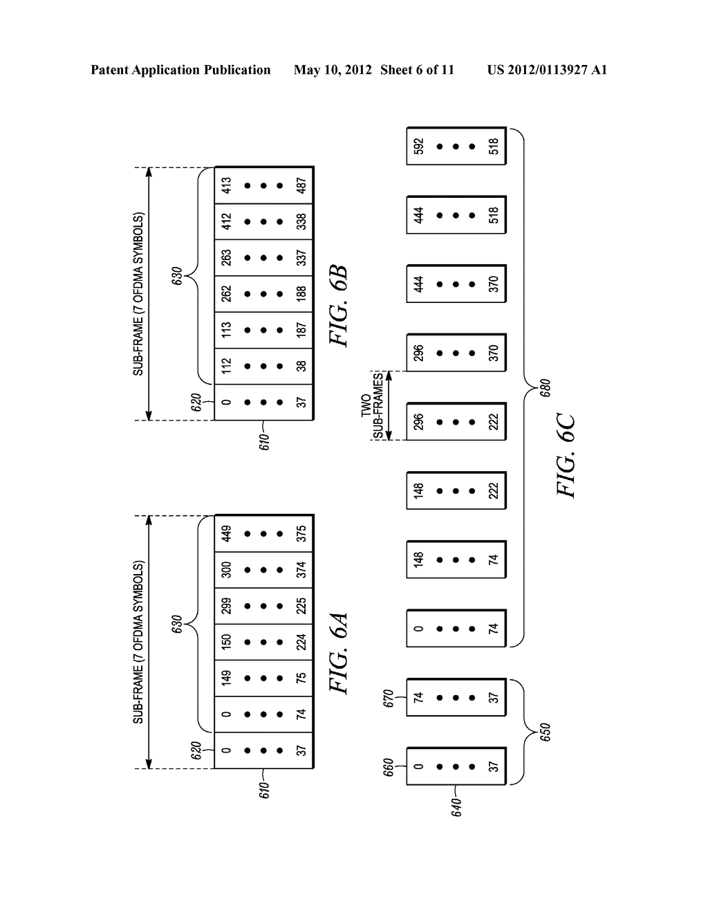 METHOD AND APPARATUS FOR INTERLEAVING SEQUENCE ELEMENTS OF AN OFDMA     SYNCHRONIZATION CHANNEL - diagram, schematic, and image 07