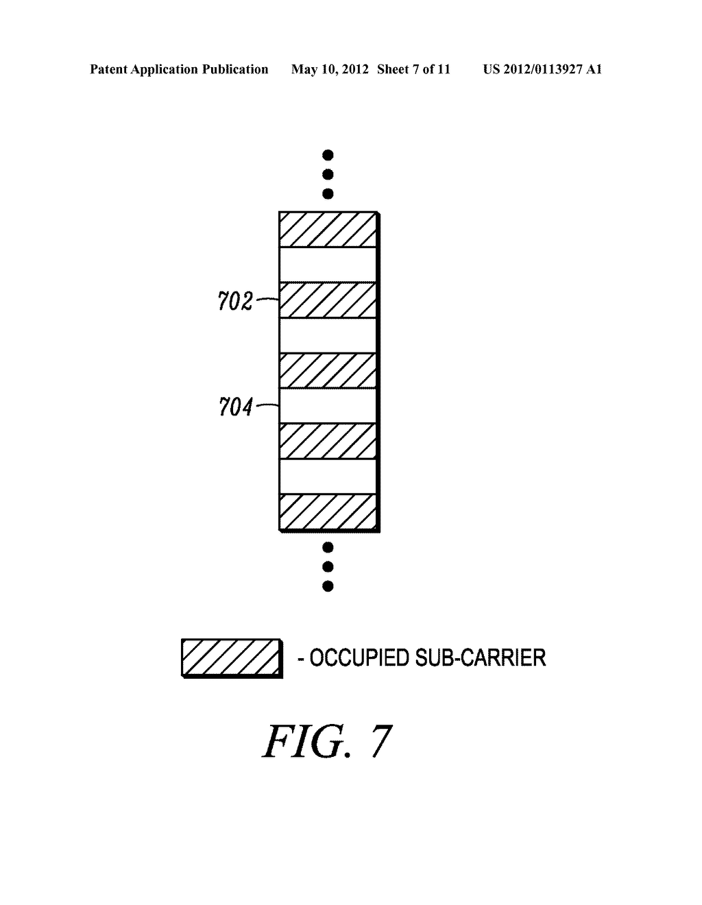 METHOD AND APPARATUS FOR INTERLEAVING SEQUENCE ELEMENTS OF AN OFDMA     SYNCHRONIZATION CHANNEL - diagram, schematic, and image 08