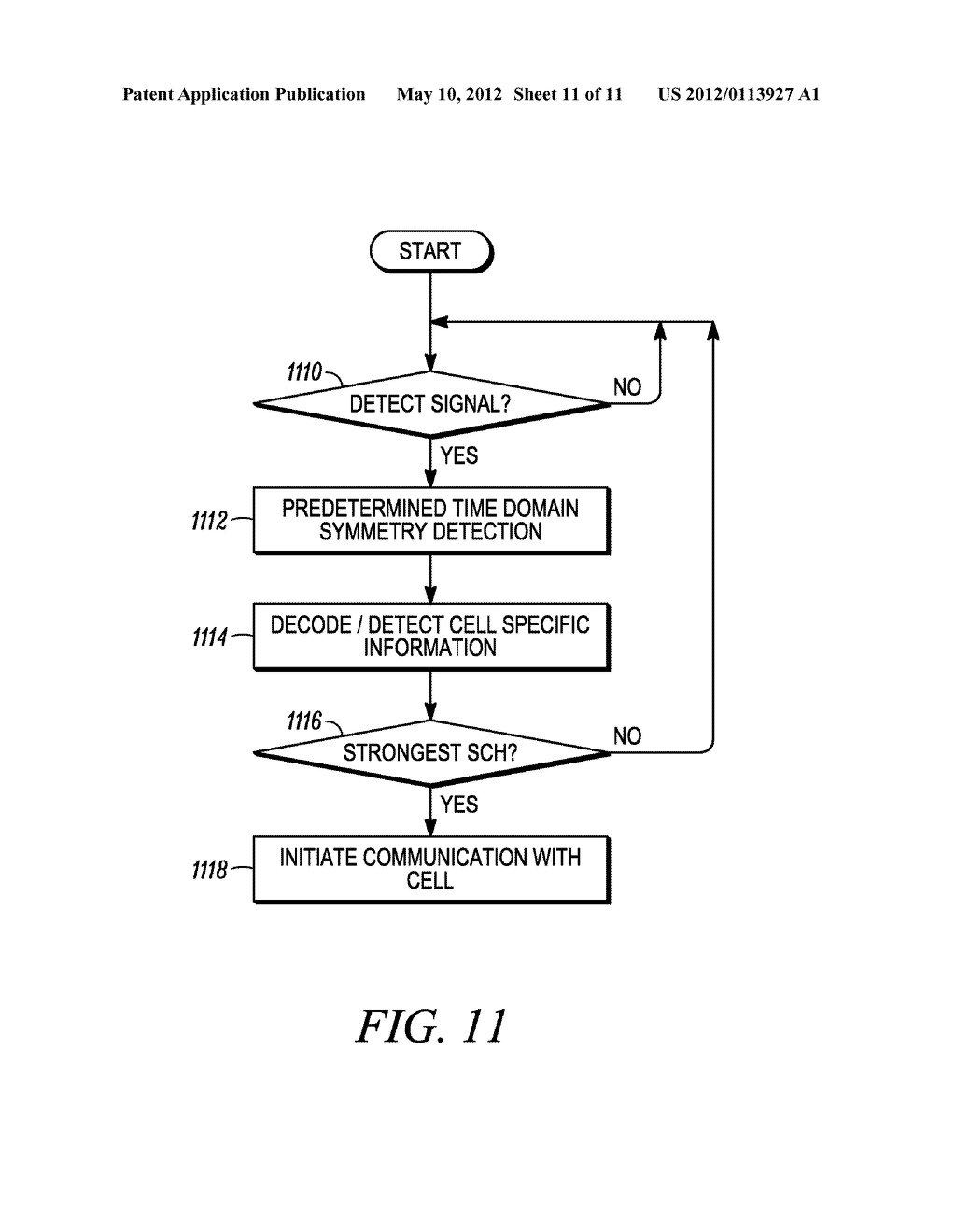 METHOD AND APPARATUS FOR INTERLEAVING SEQUENCE ELEMENTS OF AN OFDMA     SYNCHRONIZATION CHANNEL - diagram, schematic, and image 12