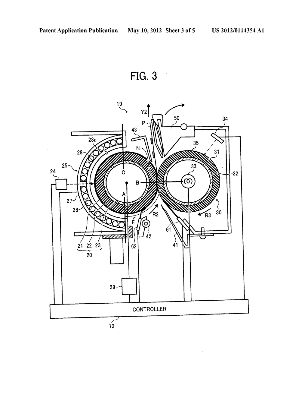 Fixing Device, Image Forming Apparatus Incorporating Same, And Method For     Fixing Toner Image On Recording Medium - diagram, schematic, and image 04