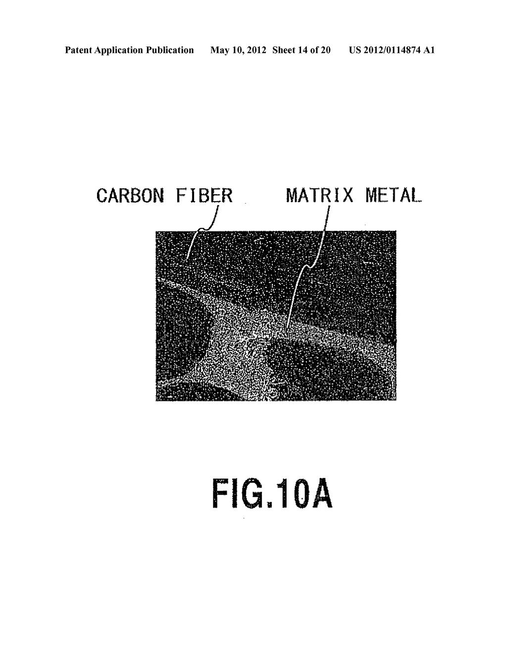 METHODS FOR PRODUCING METAL-COATED CARBON MATERIAL AND CARBON-METAL     COMPOSITE MATERIAL USING THE SAME - diagram, schematic, and image 15