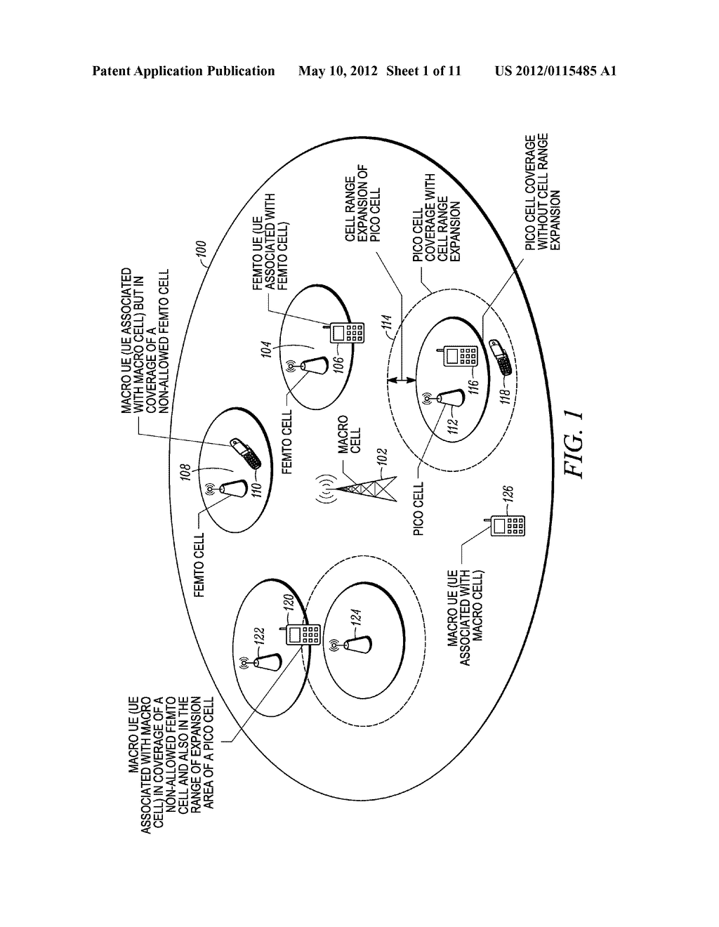 Idle State Interference Mitigation in Wireless Communication Network - diagram, schematic, and image 02