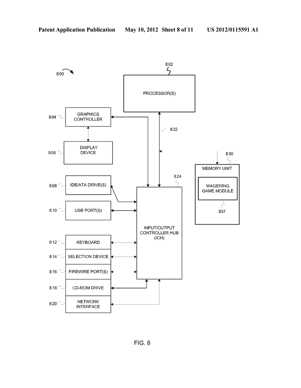 AWARDING ACHIEVEMENTS IN WAGERING GAMES - diagram, schematic, and image 09