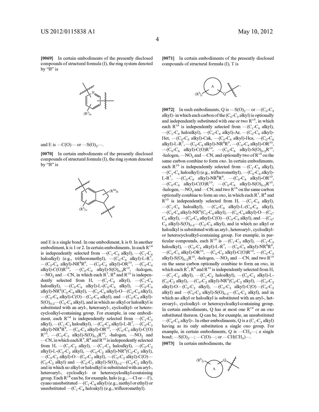 AMPK-Activating Heterocycloalkyloxy(Hetero)Aryl Carboxamide, Sulfonamide     And Amine Compounds And Methods For Using The Same - diagram, schematic, and image 05