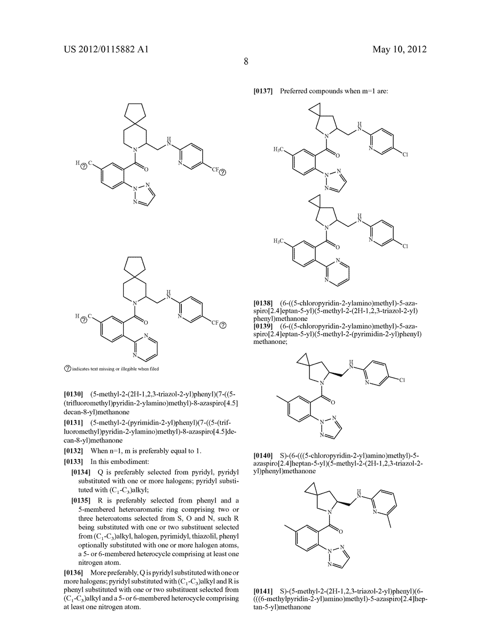 SPIRO AMINO COMPOUNDS SUITABLE FOR THE TREATMENT OF INTER ALIA SLEEP     DISORDERS AND DRUG ADDICTION - diagram, schematic, and image 09