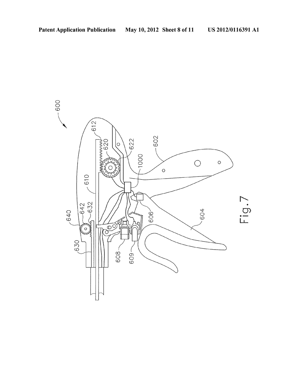 SURGICAL INSTRUMENT WITH SENSOR AND POWERED CONTROL - diagram, schematic, and image 09