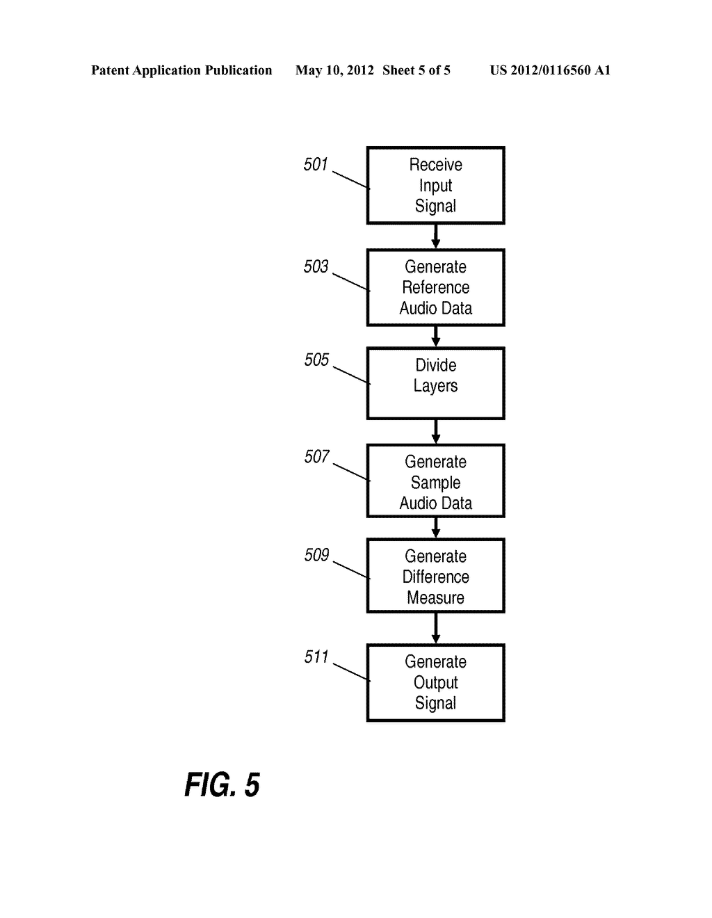 Apparatus and Method for Generating an Output Audio Data Signal - diagram, schematic, and image 06