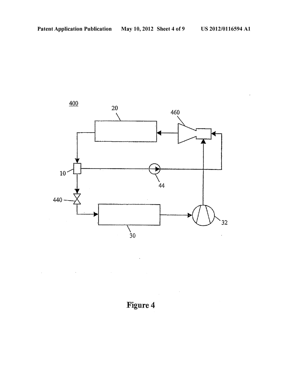 JET PUMP SYSTEM FOR HEAT AND COLD MANAGEMENT, APPARATUS, ARRANGEMENT AND     METHODS OF USE - diagram, schematic, and image 05