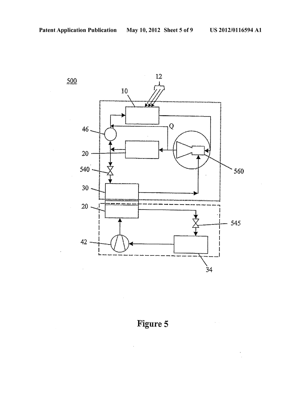 JET PUMP SYSTEM FOR HEAT AND COLD MANAGEMENT, APPARATUS, ARRANGEMENT AND     METHODS OF USE - diagram, schematic, and image 06