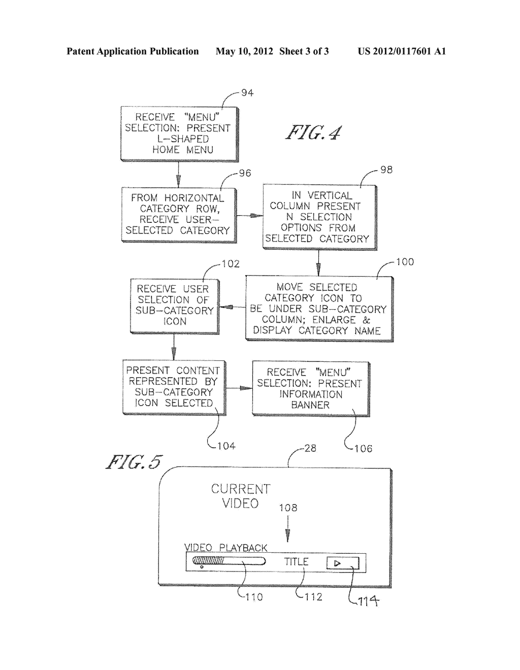 USER INTERFACE FOR AUDIO VIDEO DISPLAY DEVICE SUCH AS TV - diagram, schematic, and image 04