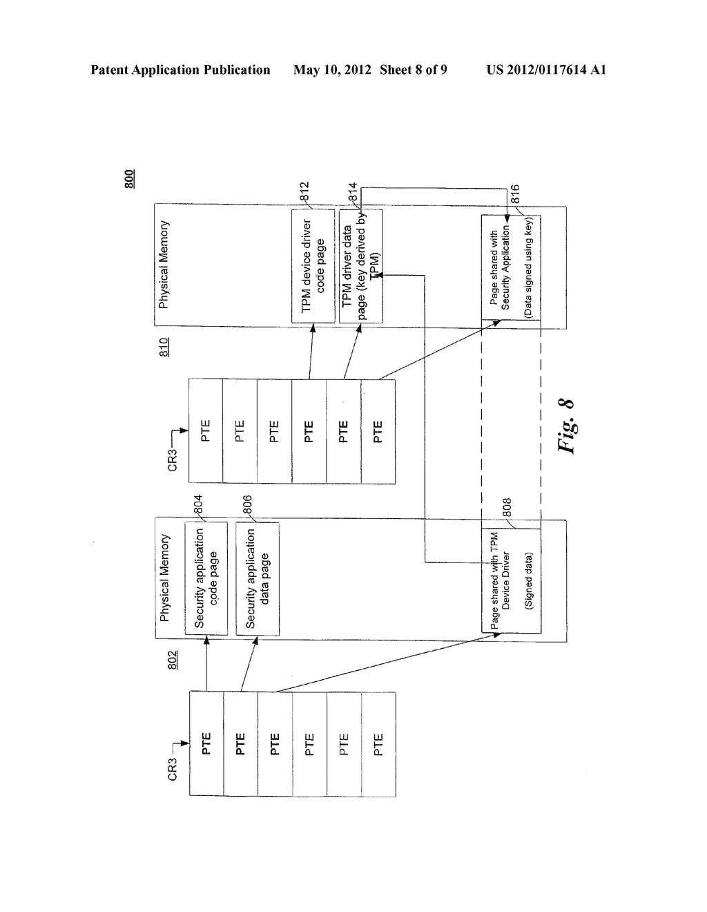 SYSTEM AND METHOD FOR HIGH PERFORMANCE SECURE ACCESS TO A TRUSTED PLATFORM     MODULE ON A HARDWARE VIRTUALIZATION PLATFORM - diagram, schematic, and image 09