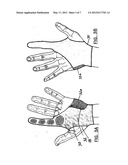BASEBALL CATCHER S PROTECTIVE HANDWEAR diagram and image