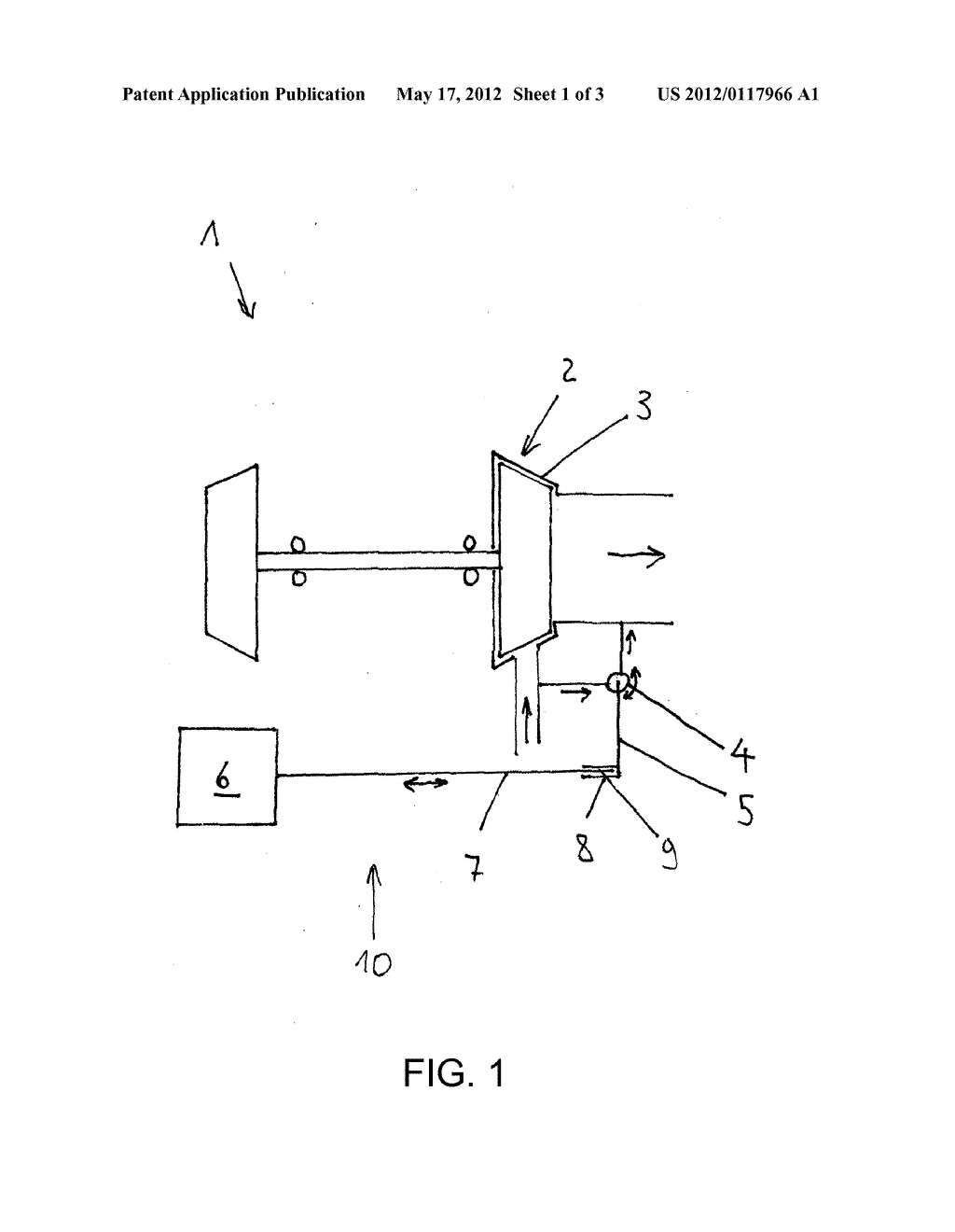 TURBOCHARGER, AND METHOD FOR MOUNTING A CLOSED-LOOP CONTROL DEVICE FOR A     TURBOCHARGER - diagram, schematic, and image 02