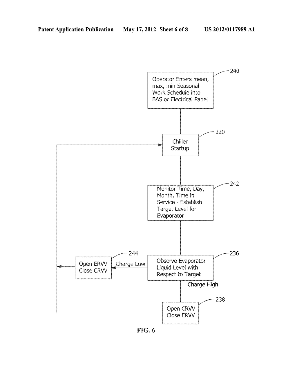METHOD AND APPARATUS FOR VARIABLE REFRIGERANT CHILLER OPERATION - diagram, schematic, and image 07