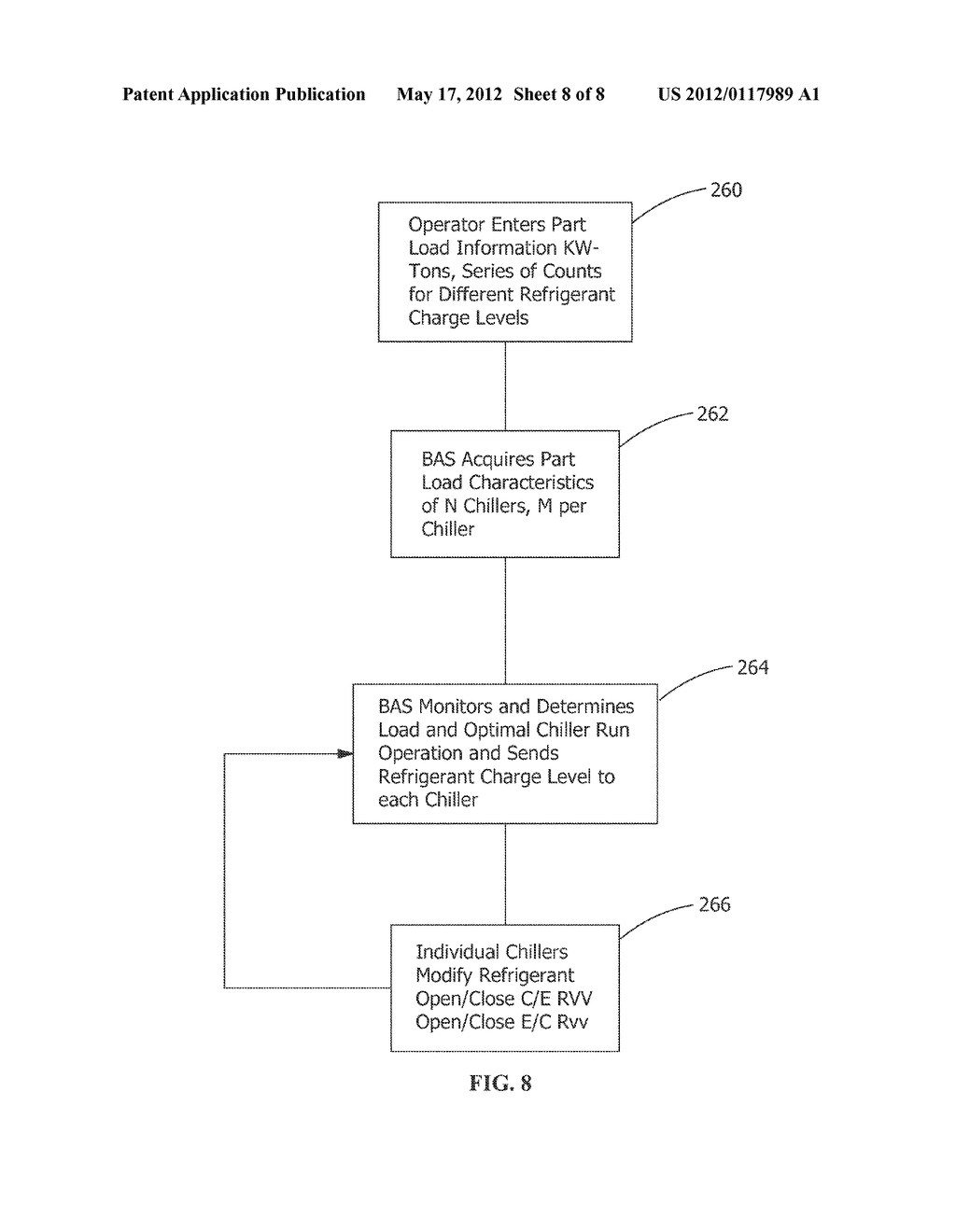 METHOD AND APPARATUS FOR VARIABLE REFRIGERANT CHILLER OPERATION - diagram, schematic, and image 09