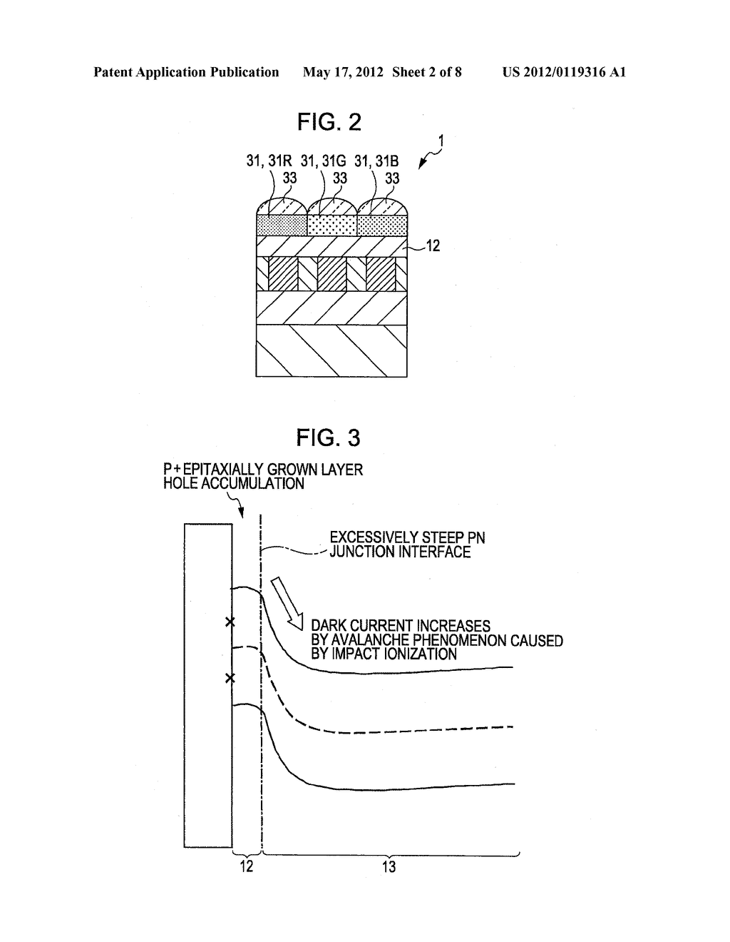 SOLID-STATE IMAGING DEVICE AND METHOD FOR MAKING THE SAME, AND     MANUFACTURING SUBSTRATE FOR SOLID-STATE IMAGING DEVICE - diagram, schematic, and image 03