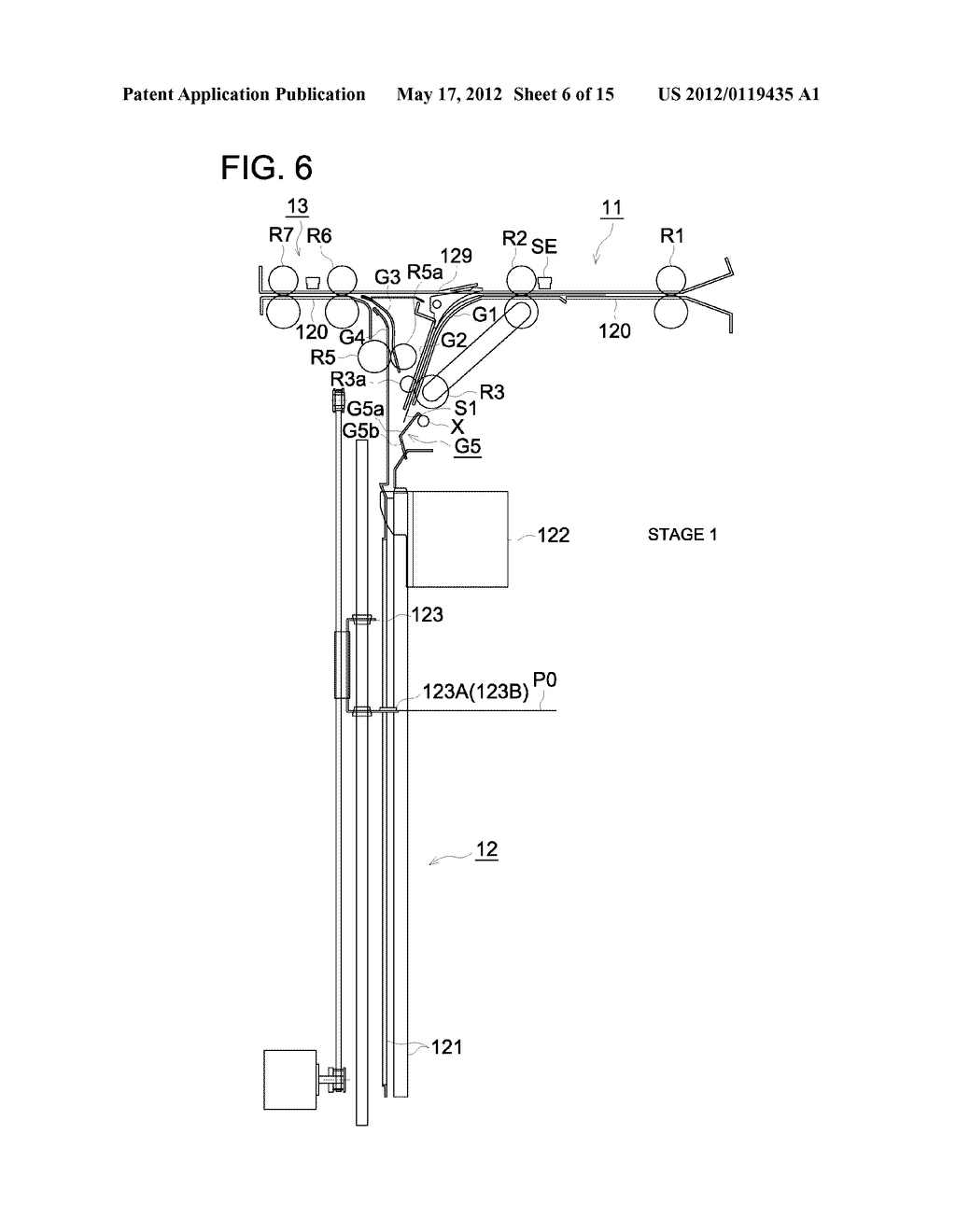 SHEET ALIGNMENT APPARATUS AND IMAGE FORMING SYSTEM USING THE SAME - diagram, schematic, and image 07