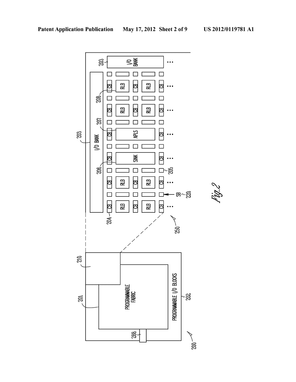 RECONFIGURABLE LOGIC FABRICS FOR INTEGRATED CIRCUITS AND SYSTEMS AND     METHODS FOR CONFIGURING RECONFIGURABLE LOGIC FABRICS - diagram, schematic, and image 03