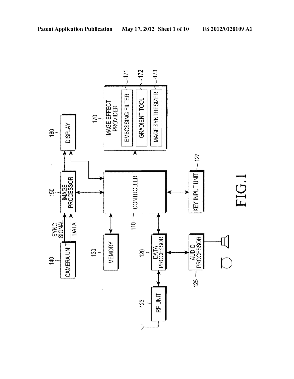 APPARATUS AND METHOD FOR PROVIDING IMAGE EFFECT IN MOBILE TERMINAL - diagram, schematic, and image 02