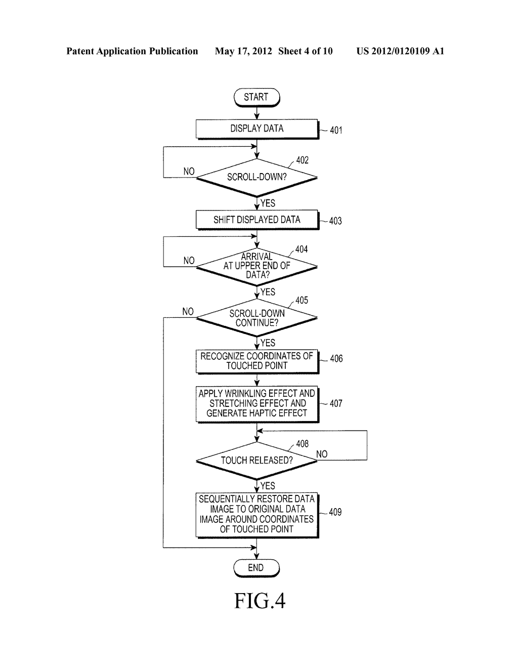 APPARATUS AND METHOD FOR PROVIDING IMAGE EFFECT IN MOBILE TERMINAL - diagram, schematic, and image 05