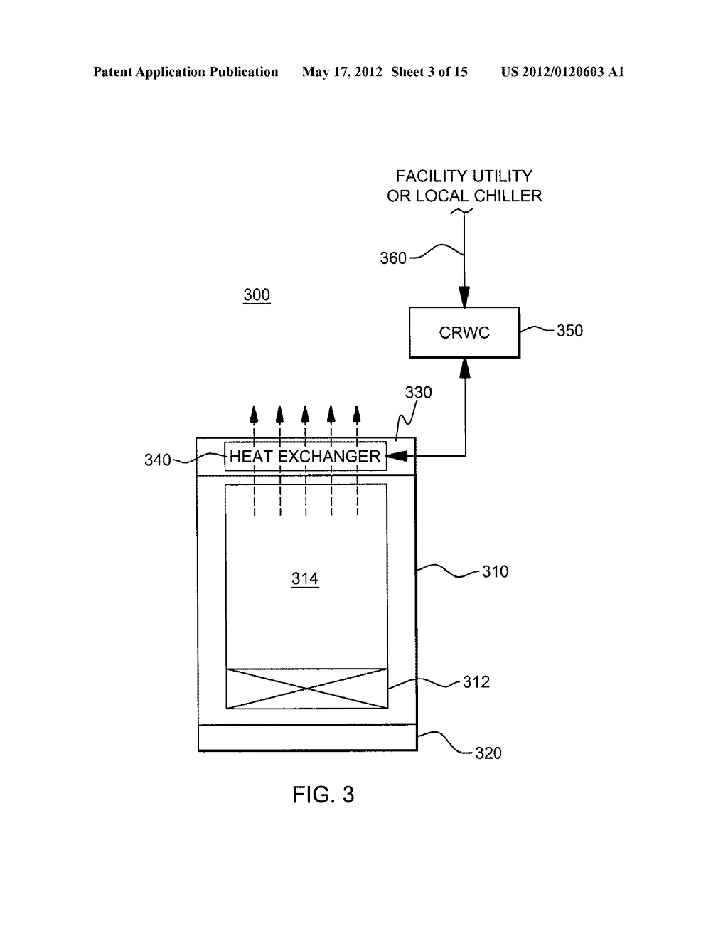 AUTOMATICALLY RECONFIGURABLE LIQUID-COOLING APPARATUS FOR AN ELECTRONICS     RACK - diagram, schematic, and image 04