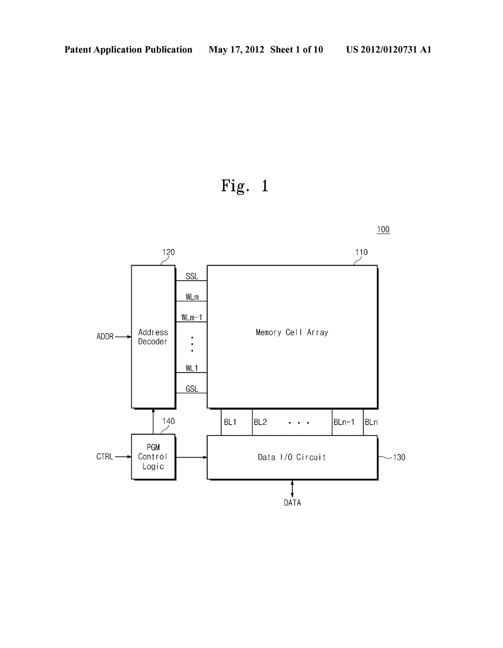 SEMICONDUCTOR MEMORY DEVICE AND RELATED METHOD OF PROGRAMMING - diagram, schematic, and image 02