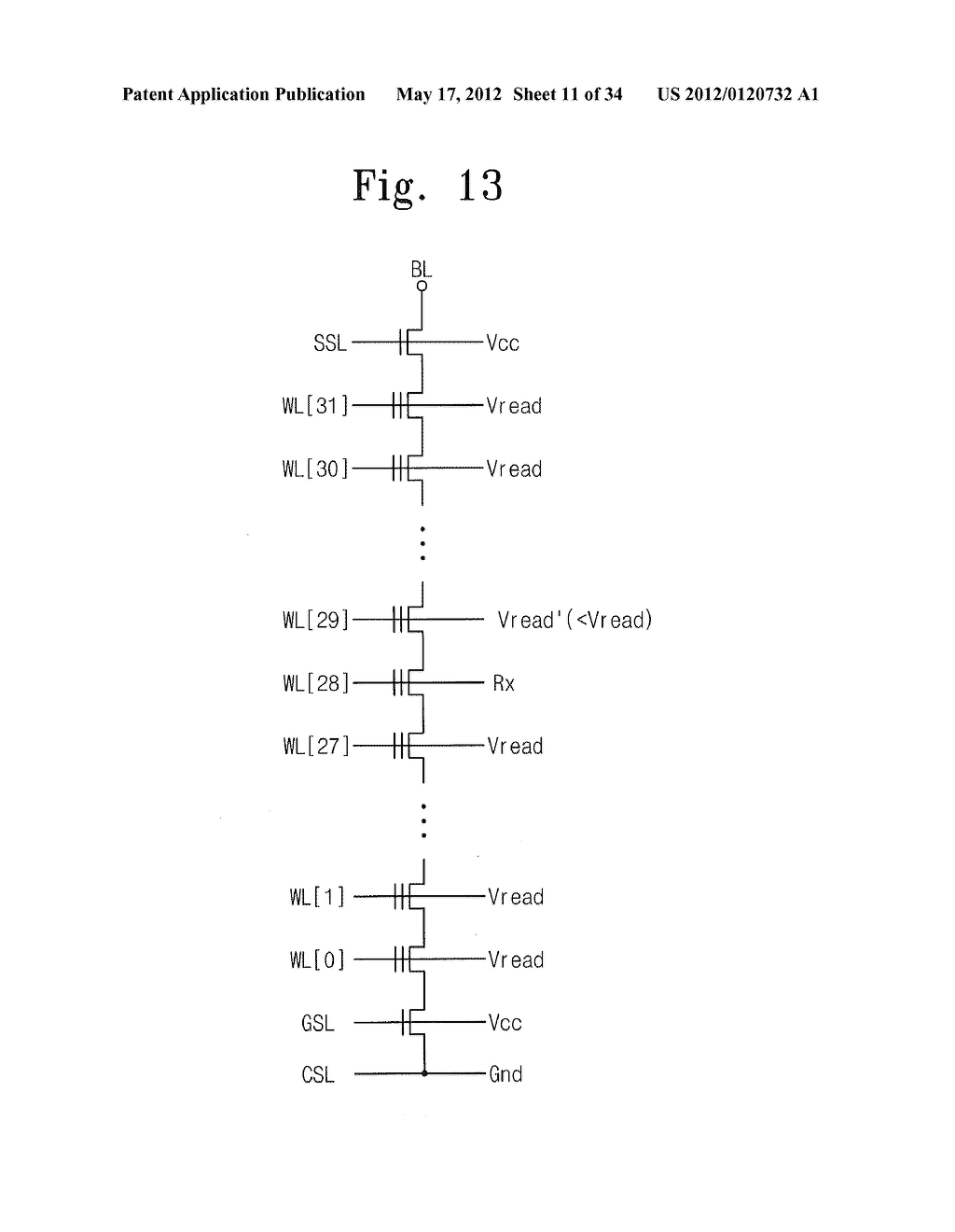 NONVOLATILE MEMORY DEVICE AND READ METHOD THEREOF - diagram, schematic, and image 12