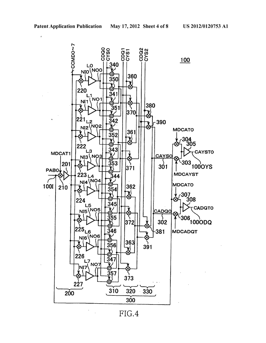 Semiconductor device having point-shift type FIFO circuit - diagram ...