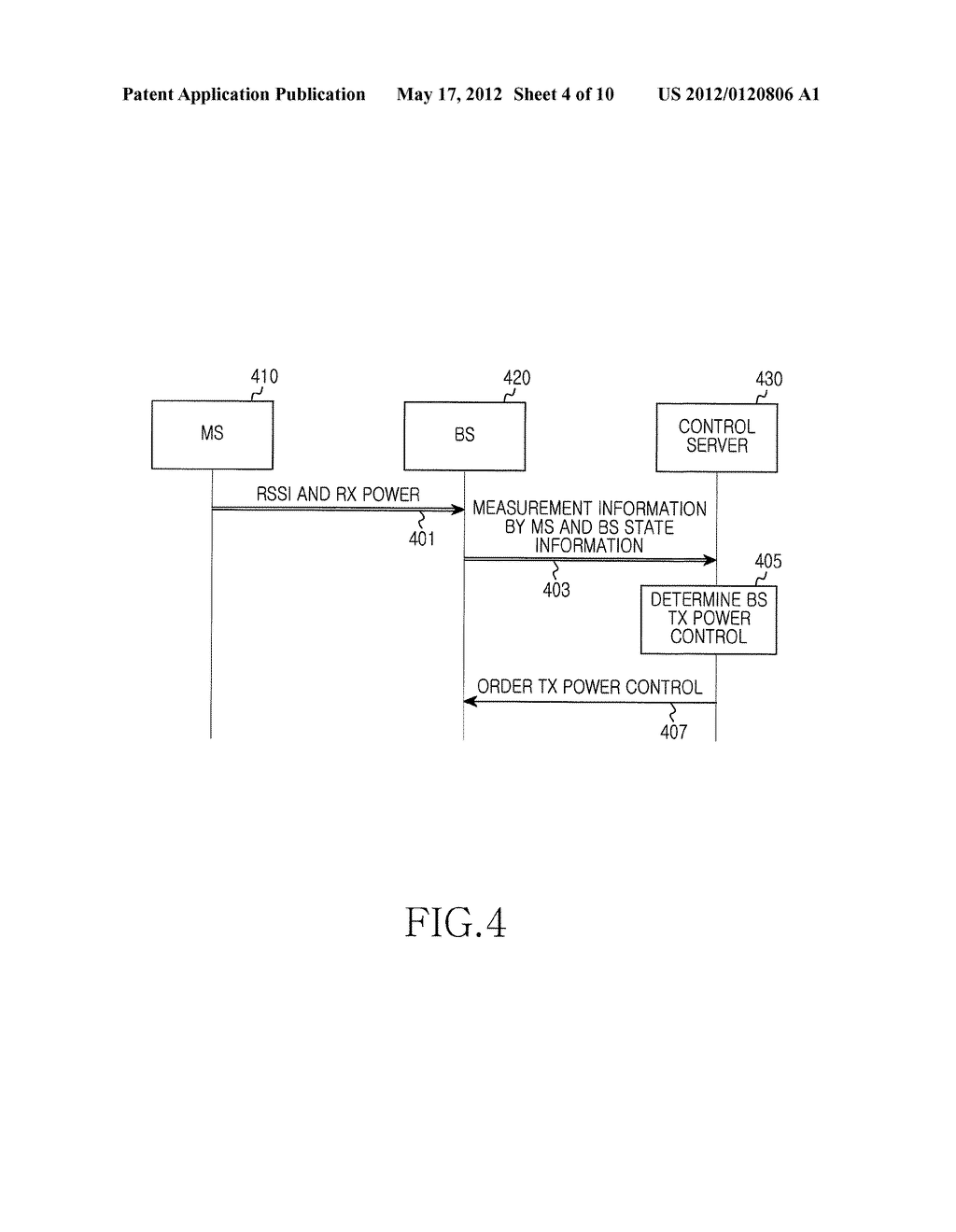 APPARATUS AND METHOD FOR LOAD BALANCING IN MULTI-CELL WIRELESS ACCESS     SYSTEM - diagram, schematic, and image 05