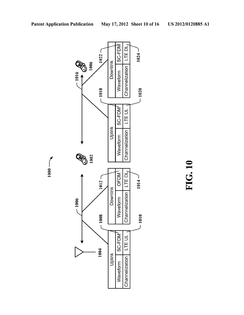 METHOD AND APPARATUS TO FACILIATE USE OF LTE CHANNELIZATION STRUCTURES AND     WAVEFORMS FOR PEER-TO-PEER COMMUNICATIONS - diagram, schematic, and image 11