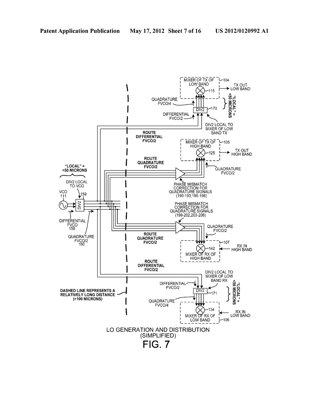 LO GENERATION AND DISTRIBUTION IN A MULTI-BAND TRANSCEIVER - diagram, schematic, and image 08