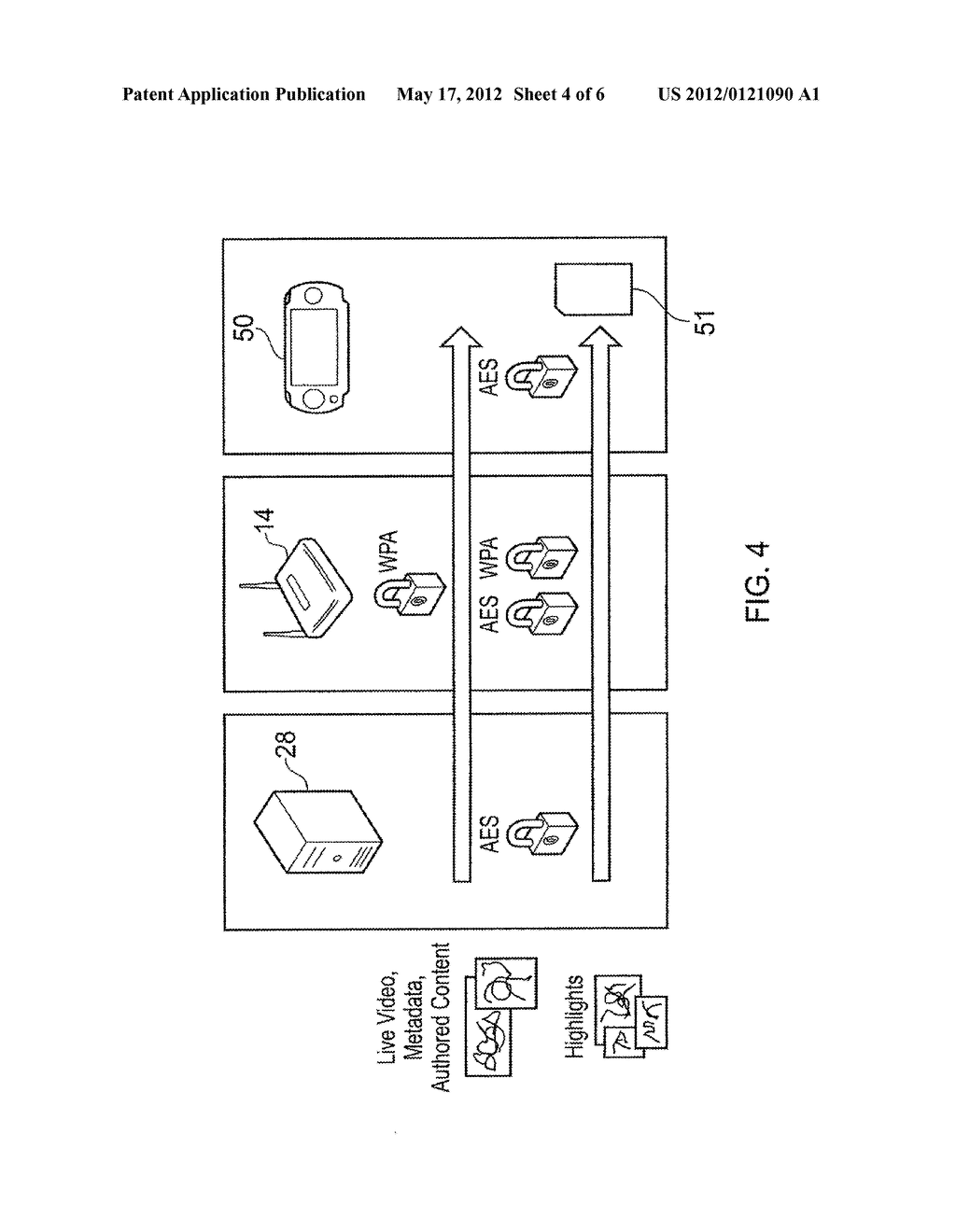 CONTENT PROTECTION METHOD AND APPARATUS - diagram, schematic, and image 05