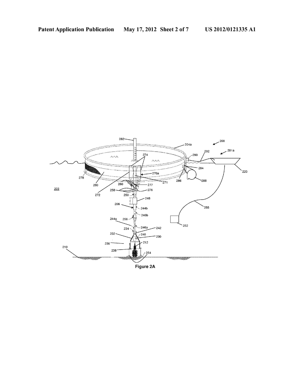DEEPWATER CONTAINMENT SYSTEM WITH SURFACE SEPARATOR AND METHOD OF USING     SAME - diagram, schematic, and image 03