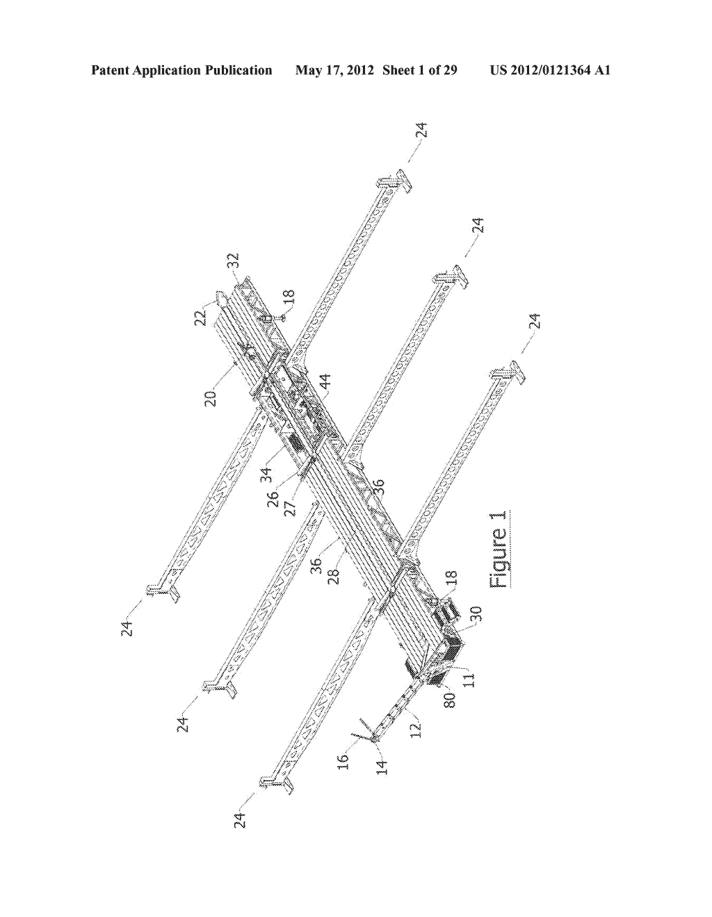 APPARATUS AND METHOD FOR HANDLING PIPE - diagram, schematic, and image 02