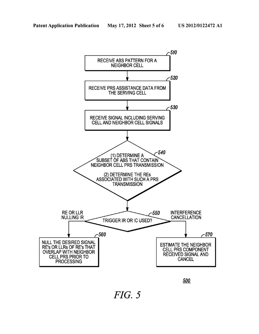 Positioning Reference Signal Assistance Data Signaling for Enhanced     Interference Coordination in a Wireless Communication Network - diagram, schematic, and image 06
