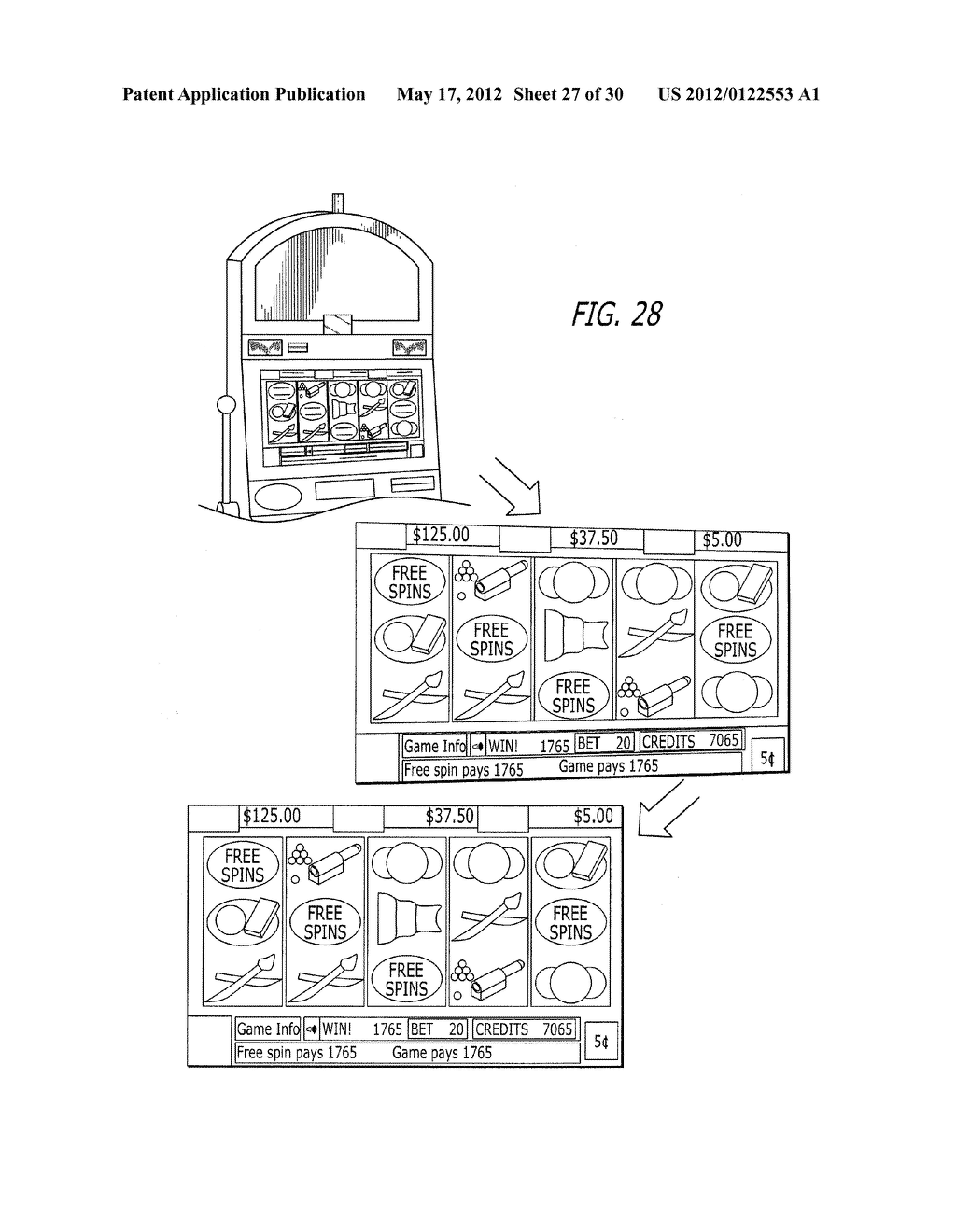 SYSTEM AND METHOD FOR GAMES HAVING A SKILL-BASED COMPONENT - diagram, schematic, and image 28