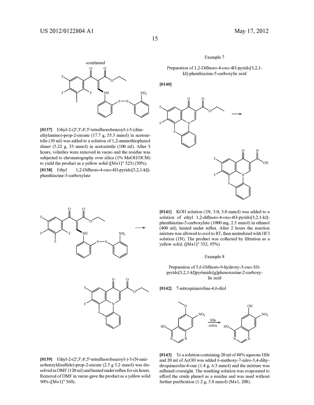 SUBSTITUTED QUINOBENZOXAZINE ANALOGS - diagram, schematic, and image 18