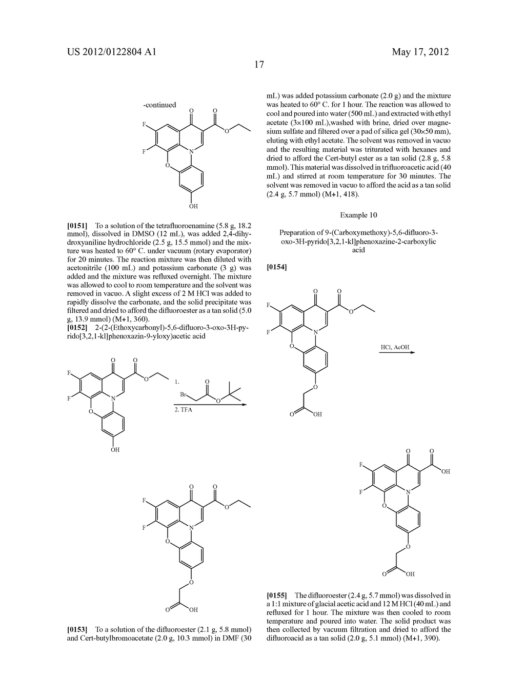 SUBSTITUTED QUINOBENZOXAZINE ANALOGS - diagram, schematic, and image 20