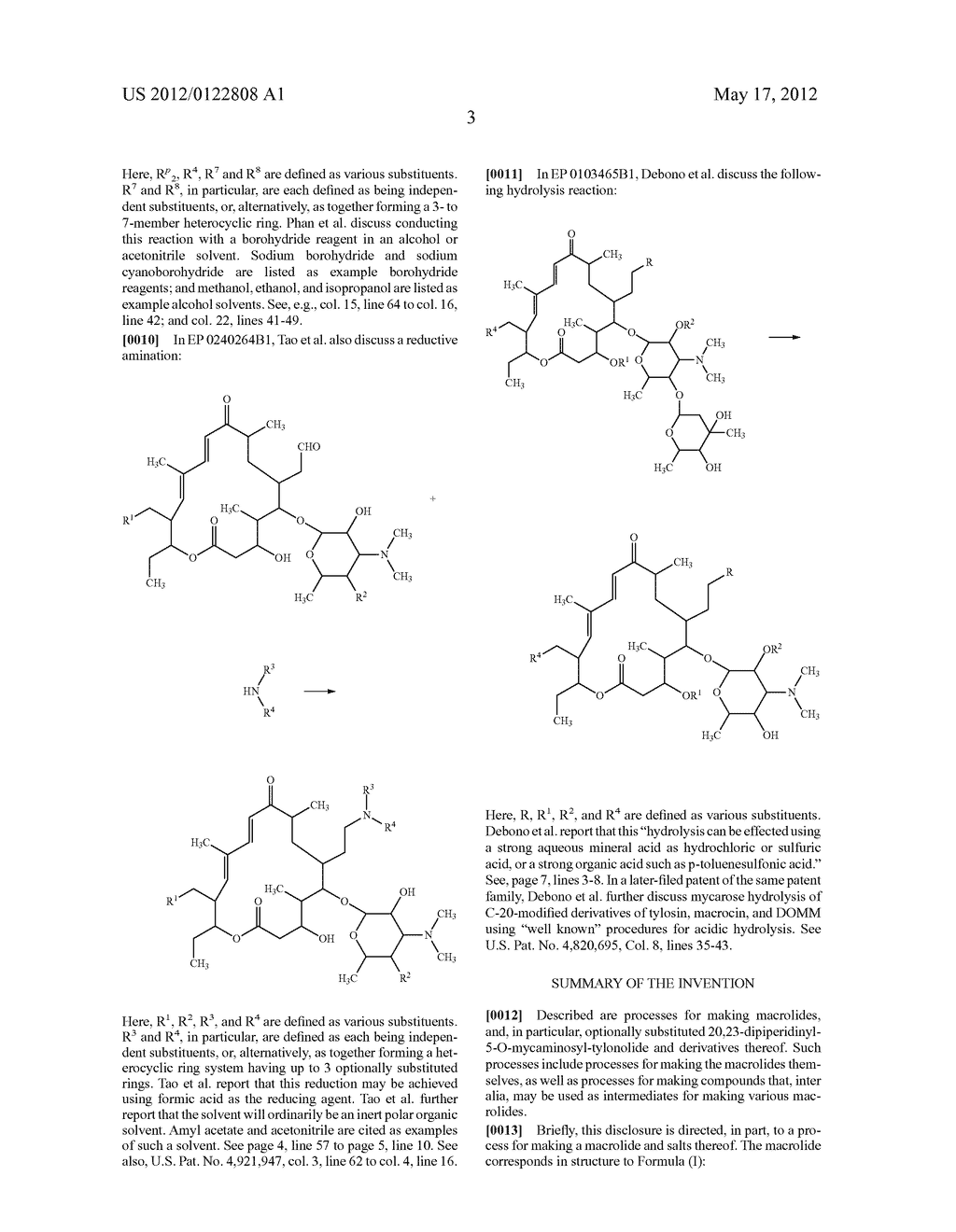 MACROLIDE SYNTHESIS PROCESS AND SOLID-STATE FORMS - diagram, schematic, and image 44