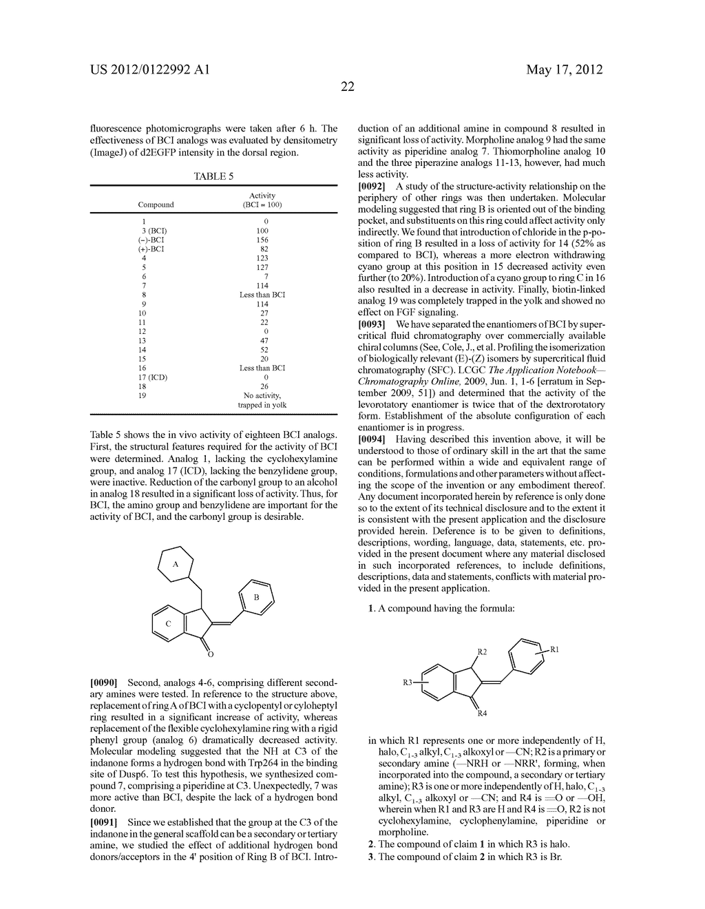 SMALL MOLECULE INHIBITORS OF Dusp6 AND USES THEREFOR - diagram, schematic, and image 42