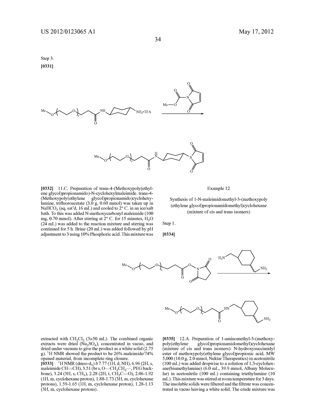Hydrolytically Stable Maleimide-Terminated Polymers - diagram, schematic, and image 38