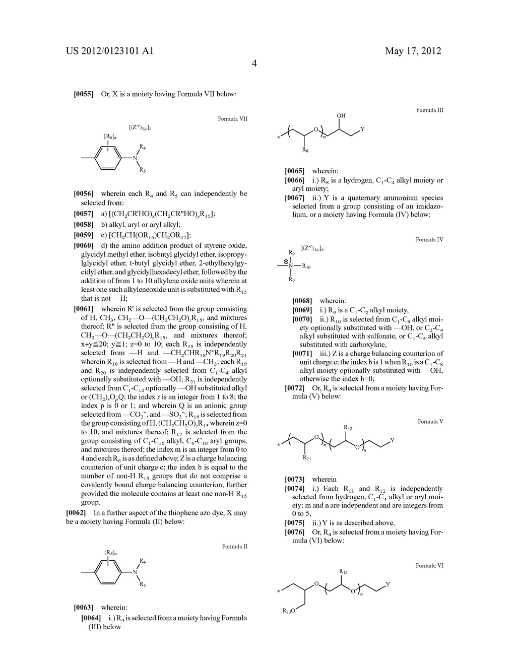 Thiophene Azo Dyes and Laundry Care Compositions Containing the Same - diagram, schematic, and image 05